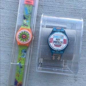Limited edition SWATCH retro watches